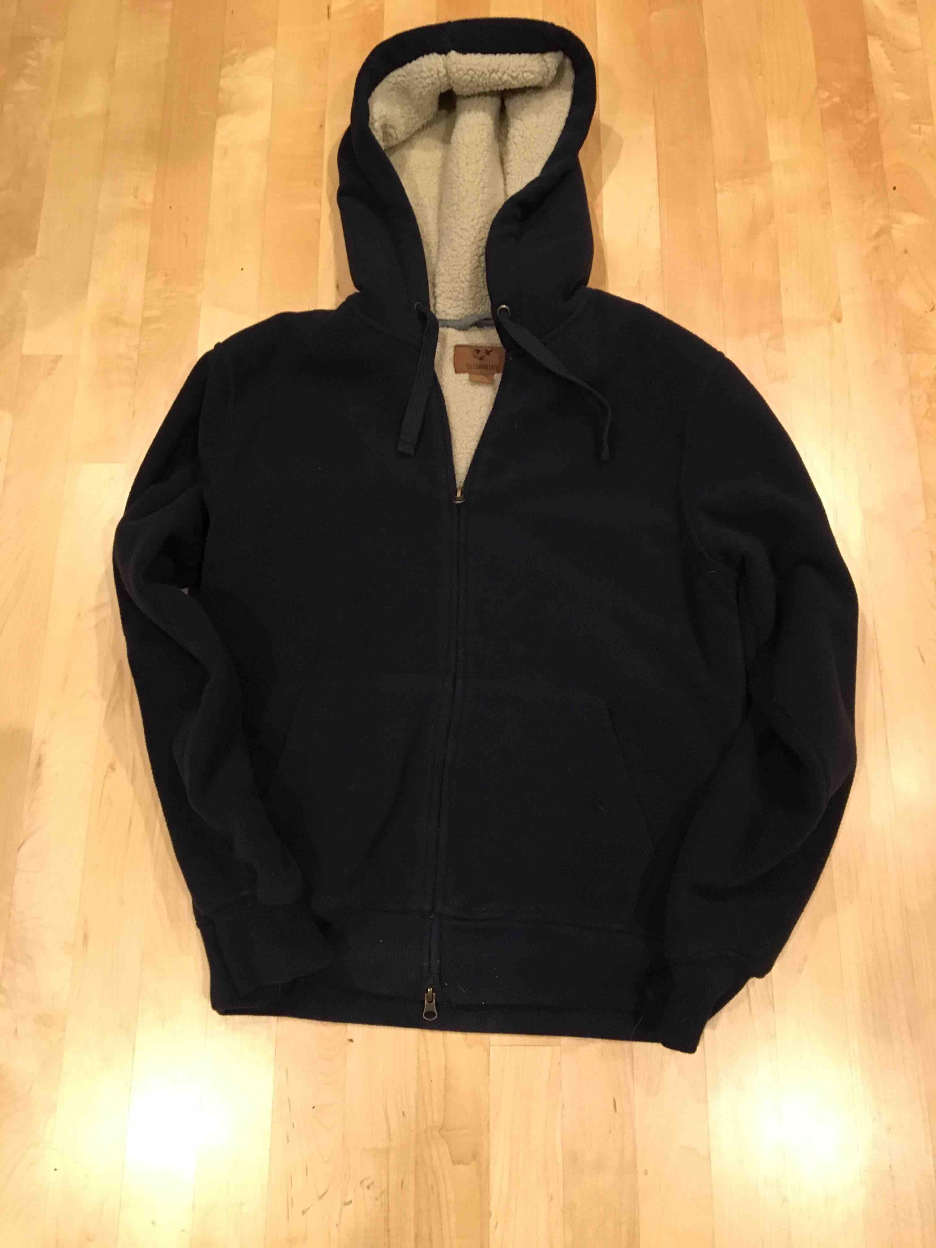 Men's S sherpa fleece jacket