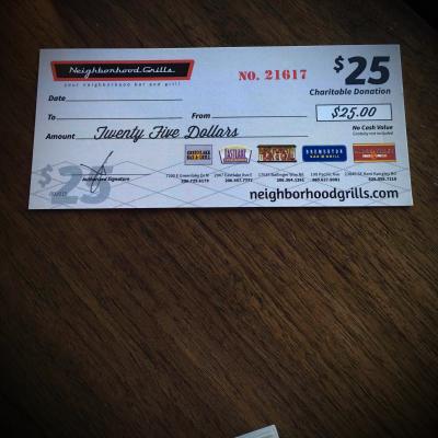 Neighborhood Grills Gift Card