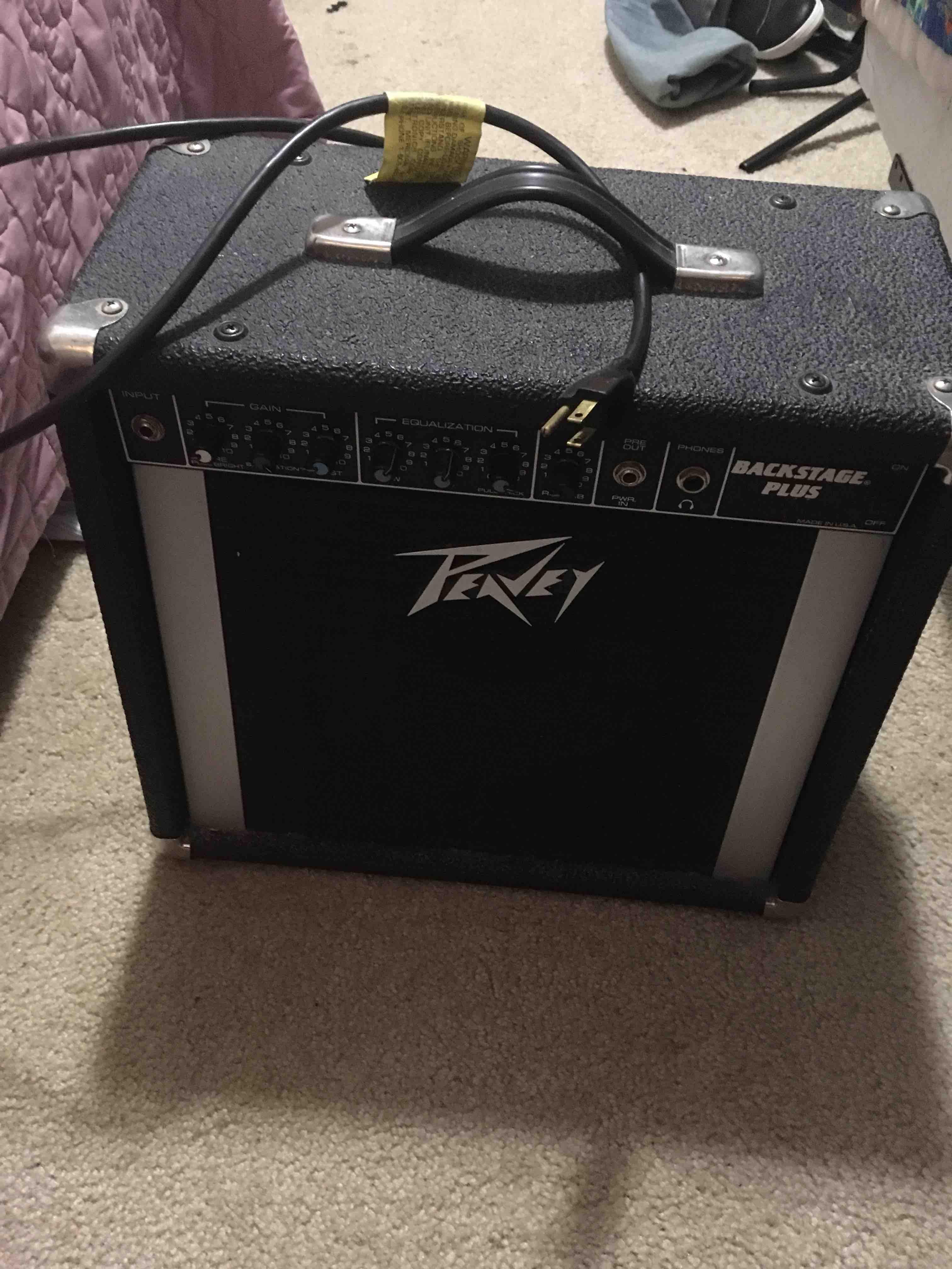 Peavey electric guitar amp